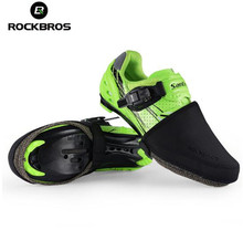 ROCKBROS Cycling Bike Shoes Cover Windproof Abrasion Resistant Fabric Keep Warm Half Overshoe MTB Road Bicycle Shoe Covers