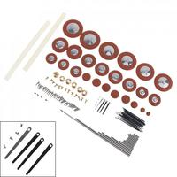 Wind Instrument Repair Kit with Screw Reed Needle Axle Musical Instrument Accessories for Flute Clarinet ALto Saxophone