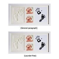 Baby Care Newborn Footprint Ink Pad Infant Clay Infant Souvenir Baby Imprint Kit Baby Souvenir Hand Footprint Makers
