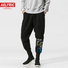 AELFRIC льняные обтягивающие брюки летние мужские повседневные спортивные штаны для бега с 3d рисунком тонкие спортивные брюки уличная одежда TR10