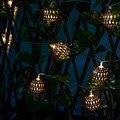 10 LED Luces de la Secuencia de Marruecos Bola de Hadas del LED Luces de Interior/Al Aire Libre Del Banquete de Boda de Navidad Decoración de La Lámpara de Energía de La Batería AA luz