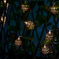 10 LED String Lights Morocco Ball LED Fairy Lights Indoor/Outdoor Christmas Wedding Party Decoration Lamp AA Battery Power Light