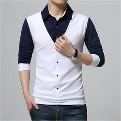 Design New 2019 Men s Brand Polo Shirt Long Sleeves Casual Spring Autumn Clothes Plus Asian Size M-3XL 4XL 5XL 4
