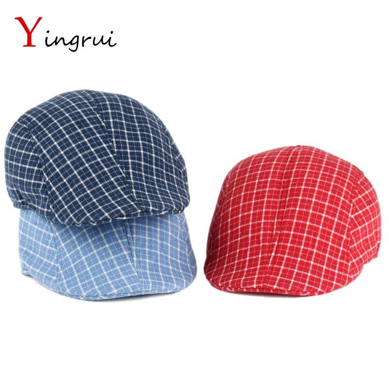 24bc30bdce3 2017 British retro caps Men Berets Cotton Hats Adjustable Casual Visors  Peaked cap bone Flat Caps Men s Berets boina .