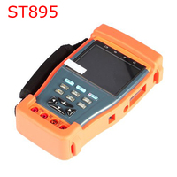 ST895 3.5 LCD Monitor CCTV Security Tester Video Camera PTZ Audio UTP Cable Test Digital Multi meter Optical Power Meter
