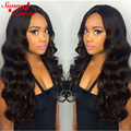 """250% Density Lace Front Human Hair Wigs 8A Malaysian Body Wave Full Lace Human Hair Wigs Bleached Knots 12-24"""" Full Lace Wig"""