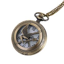 Карманные часы для мужчин животный принт кварцевые часы Винтаж цепи ретро карманные часы с цепочки и ожерелья подарки Прямая поставка 20