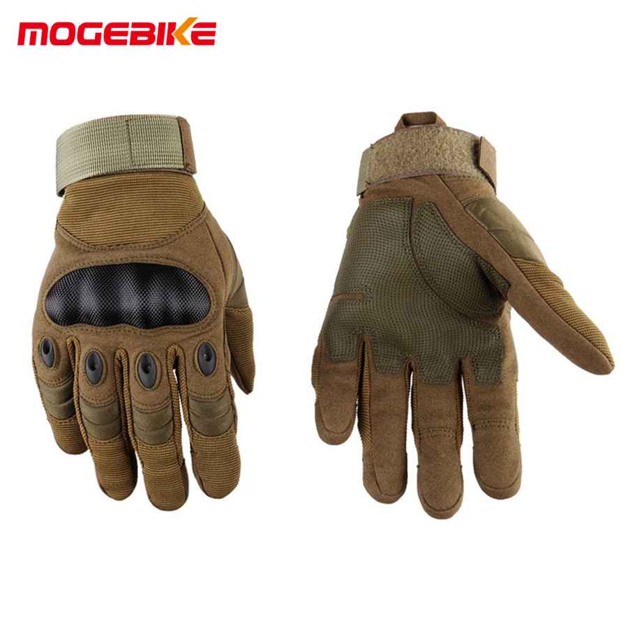 Men's Winter Gloves sports outdoor Full Finger gloves Motorcycle Gloves Sport Racing Motorbike Motocross Protective Gear Glove