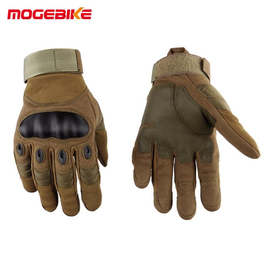 Uomo Guanti Invernali sport outdoor guanti Pieni della Barretta Guanti Moto Sport Racing Moto Motocross Equipaggiamento Protettivo Guanto