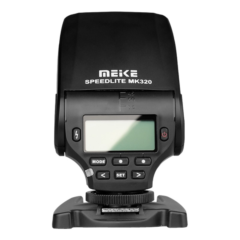 MEIKE MK-320 for Panasonic TTL Flash Speedlite for Panasonic Lumix DMC GF7 GM5 GH4 GM1 GX7 G6 GF6 GH3 G5 GF5 GX1 GF3 G3
