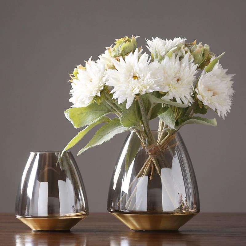 AliExpress & Aliexpress.com : Buy Modern glass vase nordic decoration home Tabletop flower vase glass terrarium vases centerpieces for weddings Flowerpot from ...