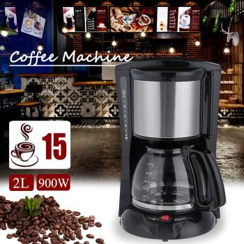 Warmtoo 2000ml Household Office American Style Drip Tea/Coffee Making Machine 12 Cups Coffee Maker 900W Temperature Control 1