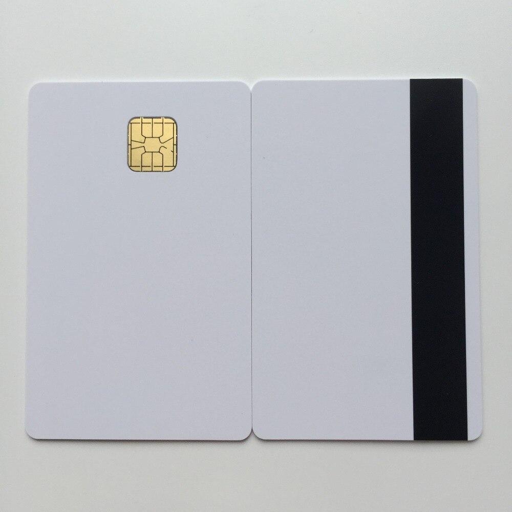 50pcs SLE4428 Hi Co Mag Stripe Inkjet Printable Blank PVC Card For Epson Printer