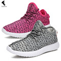 Breathable casual Solid women walking casual shoes lace Couple News new air mesh breathable women casual spring summer leisure