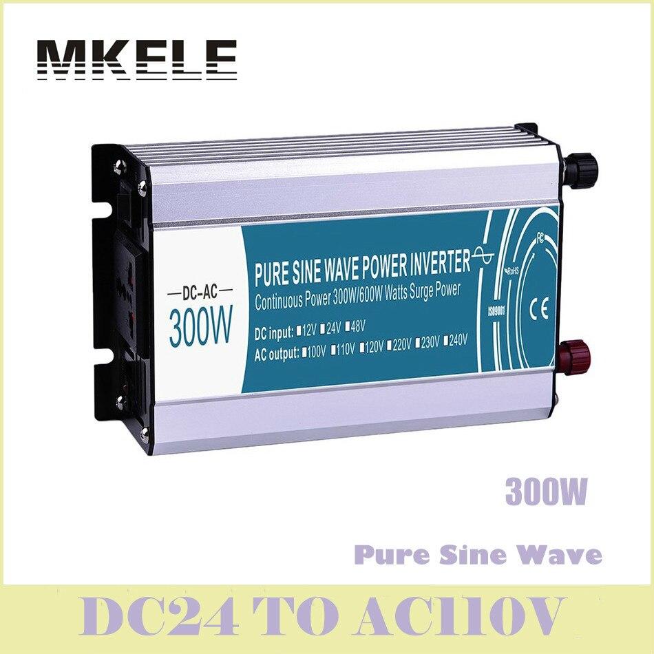 Manufacturers Direct Supply 300w 24v Dc To 110v Ac Off Grid Pure Sine Wave Inverter Voltage Converter Solar MKP300-241 China