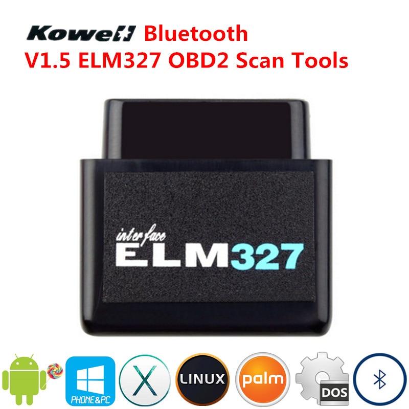 KOWELL Super Mini Bluetooth ELM327 V1.5 Android OBD2 OBDII Voiture Smart Auto Intelligente De Diagnostic Outil D'analyse Interface Scanner Nouveau
