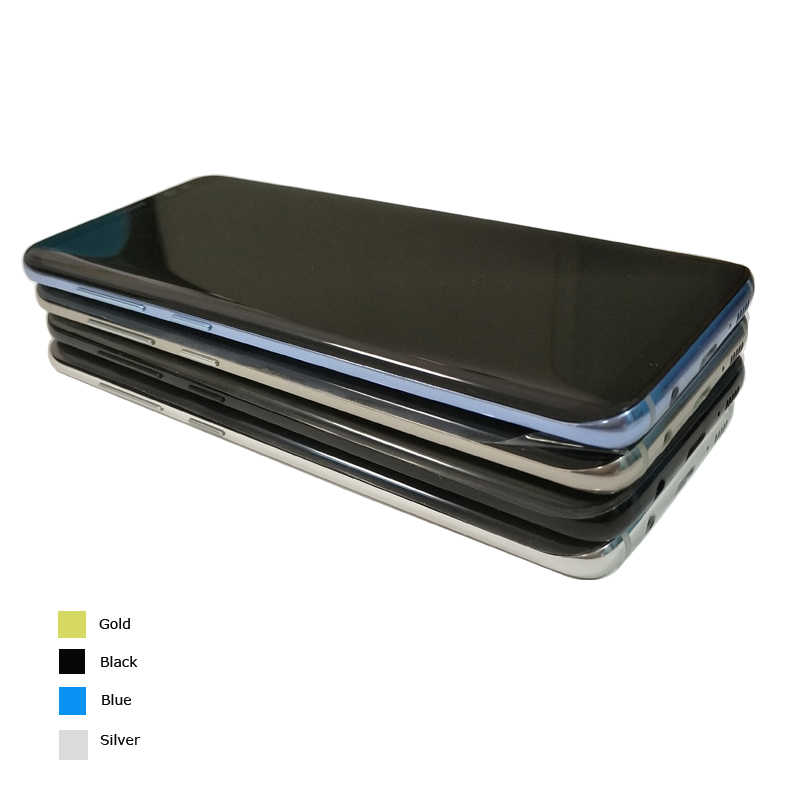 "Coreprime 100% AMOLED 5.8 ""شاشات lcd لسامسونج S8 G950F G950U G950 S8 عرض اللمس إحلال تركيبات الشاشة + الإطار + أدوات"