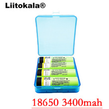 2017 Liitokala New Original 18650 NCR18650B 3400 mah Rechargeable Li-ion battery 3.7V 3400 battery