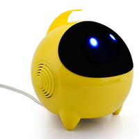 Cute Mini Astronaut USB Speakers Portable Subwoofer Stereo Audio For Computers Mobile Phones 4 Color Choices