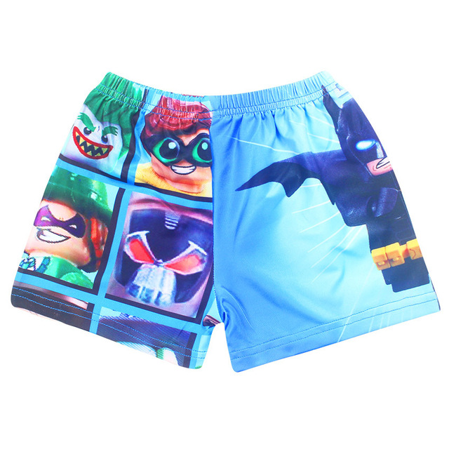 b213b88ed6b7f Garçons D'été Shorts Shorts Pour Garçon Maillot De Bain Enfants Nager Surf  Batman Legoo