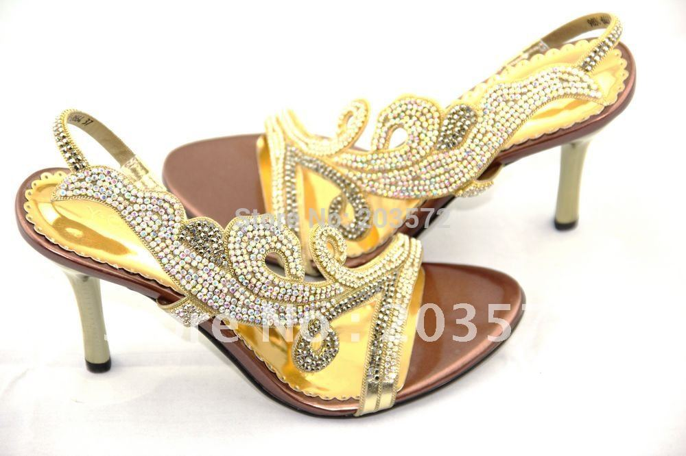 2015 Medium(b,m) Adhesive Open Y.queen New Women High Heels, Woman Wedding Shoes, Crystal Rhinestone Sandals , Shoes - suiwen liu's store