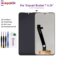 6.26'' Original For Xiaomi Redmi 7 LCD Display Screen+Touch Screen Panel Digitizer Assembly 100% Tested For Redmi 7 Lcd Screen for honey well hhp lxe mx7 lcd display inner screen and touch screen digitizer panel parts 100
