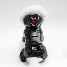 Водонепроницаемые теплые зимние комбинезоны для собак, чихуахуа, йоркширского терьера, щенка, маленьких питомцев, одежда для собак, комбинезон, парки, пуховое пальто