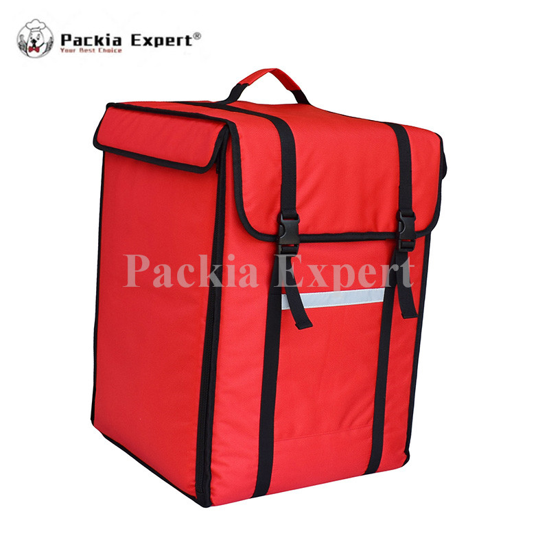 14 L x 14 W x 20 H Pizza Delivery Box, Big Pizza Delivery Bag, Catering Carrier, Backpack 2-Way Zipper Closure PHSB-393956 security mail bag w lockable belt closure 18w x 30h