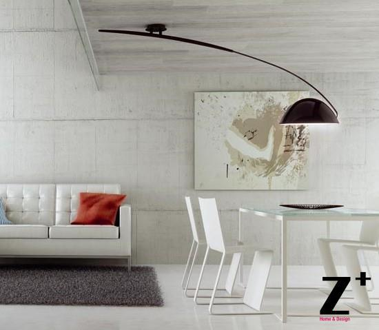 estiluz lighting. contemporary lighting replica item t2955 estiluz pluma lights designed by estudi ribaudi ceiling  lamp rion black white one arms ceiling lamp and lighting