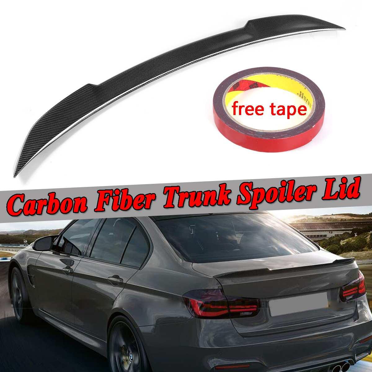 Carbon Fiber 13~18 BMW 328i 335i 340i M3 Sedan PSM Performance Trunk Spoiler