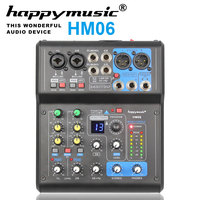 Professional Mixer MH Series 6 Channels 8 Channels USB Sound Card 16 DSP Sound Console Equipment DJ Mixer