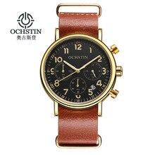 Ochstin moda deporte del cronógrafo para hombre relojes de primeras marcas de lujo de cuarzo reloj de hombre reloj 2017 reloj masculino horas relogio masculino