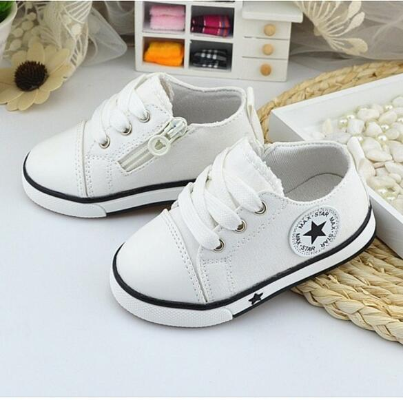 New Baby Shoes Breathable Canvas Shoes 0-3 Years Old Boys Shoes 4 Color Comfortable Girls Baby Sneakers Kids Toddler Shoes