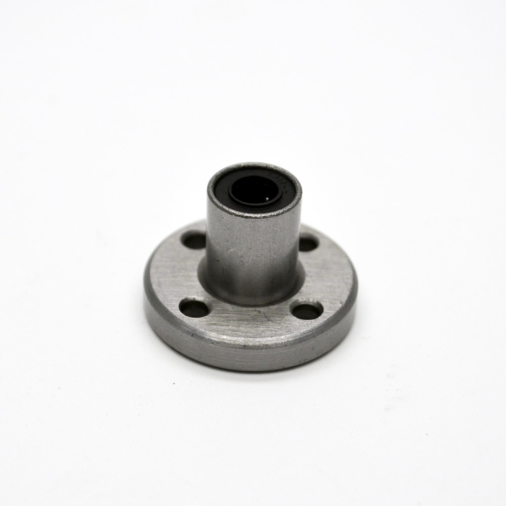 все цены на 3d printer bearing 8pcs LMF6UU 6mm round flange linear ball bearing bushing for 6 mm linear guide rail rod round shaft cnc part онлайн