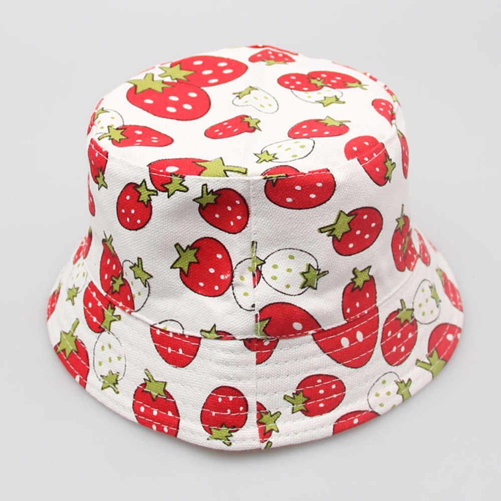 Womail כובע קיץ דלי כובע לשני המינים לפעוטות ילדים בני בנות פרחוני דפוס דלי כובעי שמש קסדת כובע חיצוני 2019 dropship f26