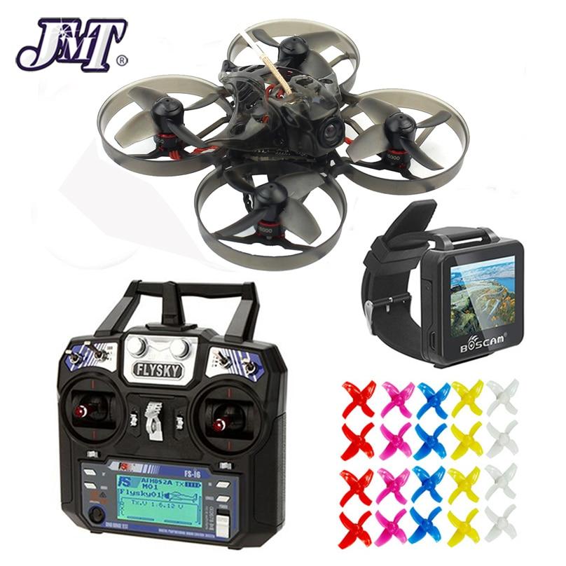 JMT Happymodel Mobula7 75mm Bwhoop Crazybee F3 Pro OSD 2 S FPV Racing Drone Quadcopter w/Mise À Niveau BB2 ESC 700TVL BNF Frsky Flysky