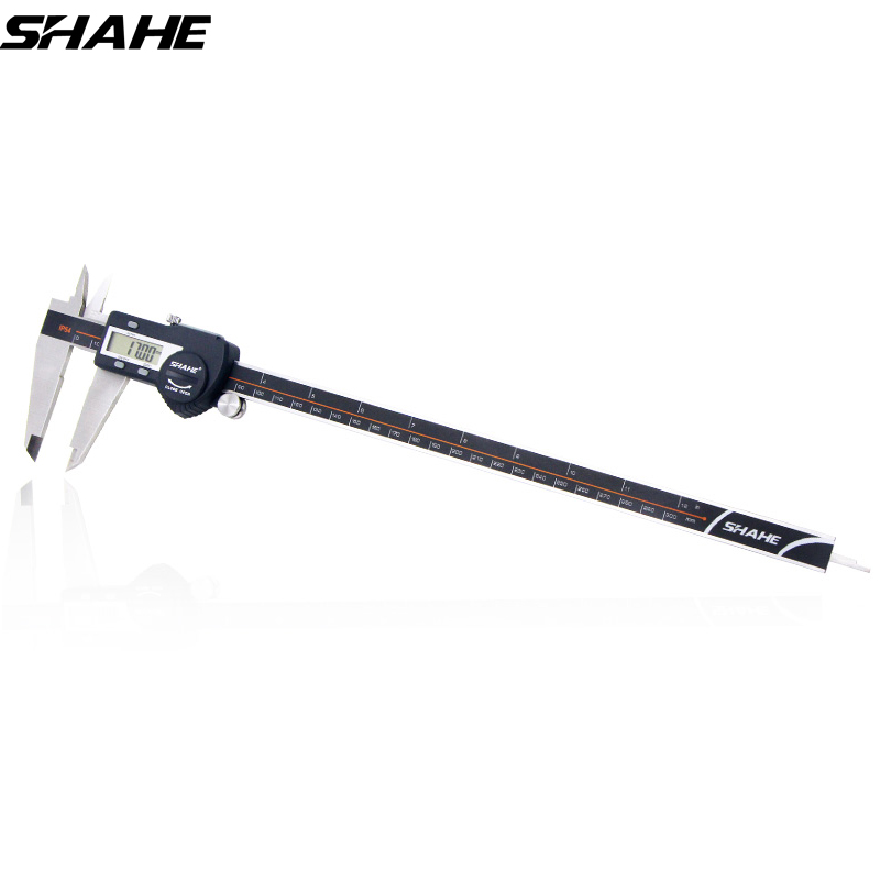 SHAHE Precision Electronic Digital Caliper 300 mm Electronic Digital Caliper Steel Vernier Caliper Paquimetro Digital 150mm electronic digital caliper digital vernier caliper caliper free shipping 31080