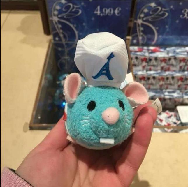 Toys & Hobbies Paris Exclusive Chip & Dale Mickey Minnie Donald Pluto Chef Remy Ratatouille Figaro Tsum 3.5 Plush Set Authentic