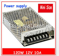 MS 120 12V 120W Mean well LED Transformer 24V Power Supply 5A from 110V 220V AC to DC Output free shippping