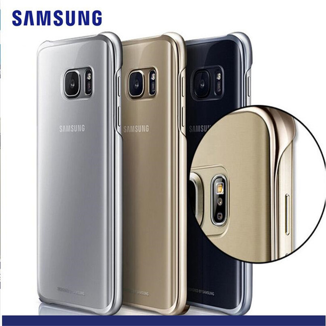 online store 21f7d 3a626 Aliexpress.com : Buy Original Crystal Clear Protective Case Cover  Protective Phone Case for Samsung Galaxy NOTE 5 S7 s7 edge S6 S6 edge plus  from ...