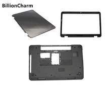 BillionCharm New Laptop Bottom Base Case for DELL  Inspiron 15R N5110 M5110  LCD Back Cover /LCD Display  Front Bezel Black