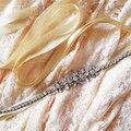 TOPQUEEN S166 FREE SHIPPING Stock Fashional Crystal Rhinestone Wedding Sash Satin Fabric  Bride Sash Pure Handmade Wedding Belts
