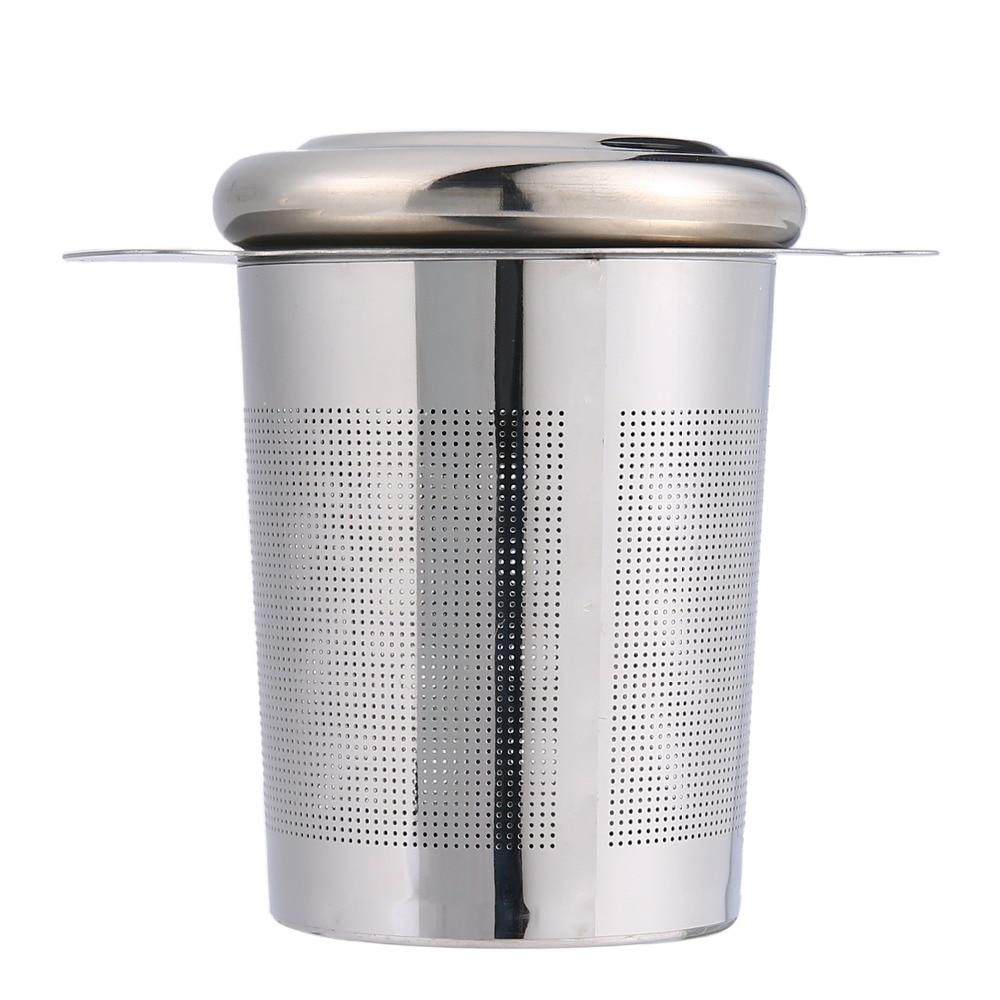 Pawaca Edelstahlgewebe Tee ei Sieb Wiederverwendbare Tee Filter ...
