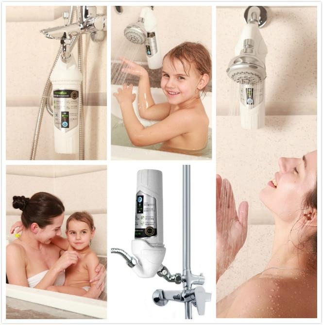 Filtre de douche avec tête de douche chromée, miniwell L720, - Marchandises pour la maison - Photo 4