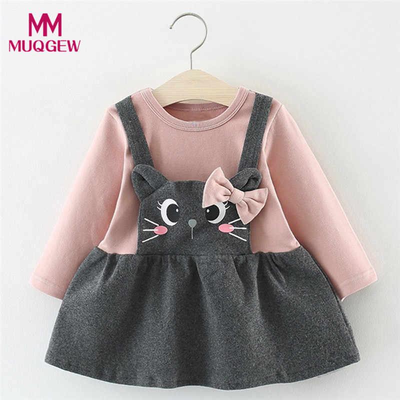 fd9537859e4df girl dresses kids casual Toddler Baby Girl Valentine Stripe Heart ...