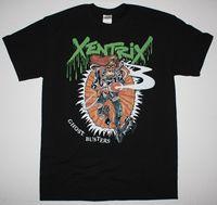 XENTRIX GHOST BUSTERS THRASH METAL KREATOR EVILE SODOM NEW BLACK T SHIRT Cheap Wholesale tees,100% Cotton Tee Shirt