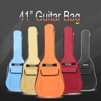 SOACH New 41 Inch Double Shoulder Strap Guitar Kits Ukulele Padded Ballad Guitar Bag Waterproof Beginners