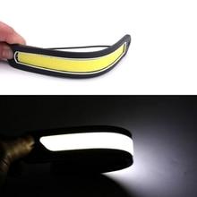 2pcs Universal 12V LED Daytime Running Lights COB Flexible Rubber Waterproof Auto Fog Light Car