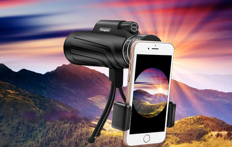 ᗑ zoom monocular telescope scope for smartphone camera