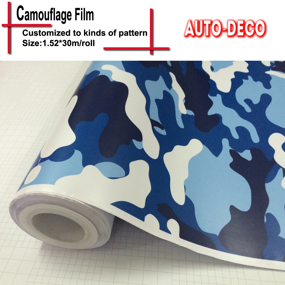 Hot sale Camouflage Vinyl Sticker Bomb Wrap Sticker on Car DacalsRolls Sheet Foil With Air Drains FedEx Free Shipping 30m/roll